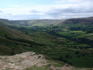イギリスの自然:ハイキングに行った際の景色
