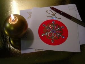 英語でクリスマスカードを書く際のポイントと送り方