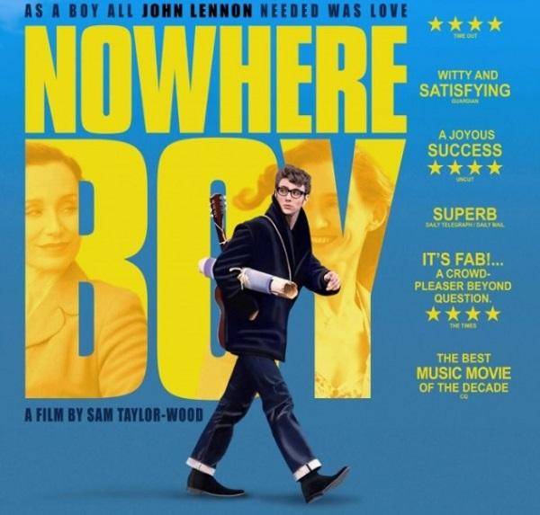 ジョン・レノンの思春期を語る「ノーウェアボーイ ひとりぼっちのあいつ」というイギリス映画を紹介!