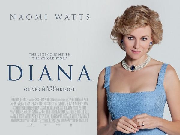 ウェールズ公妃ダイアナを描いた「ダイアナ」というイギリス映画作品を観た際の感想と作品中のイギリス英語を紹介