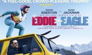 イギリス映画「イーグル・ジャンプ」を観た際のレビューと映画内のイギリス英語について紹介します!