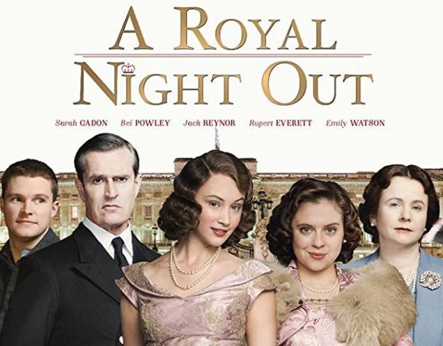 「ロイヤル・ナイト 英国王女の秘密の外出」というイギリス映画を観た際の感想と映画内のイギリス英語を紹介