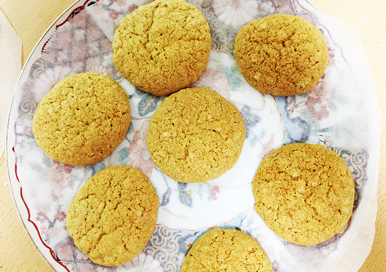 ジンジャースナップクッキーのレシピ・作り方