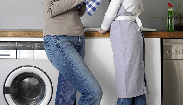 イギリス人の洗濯物の扱い方