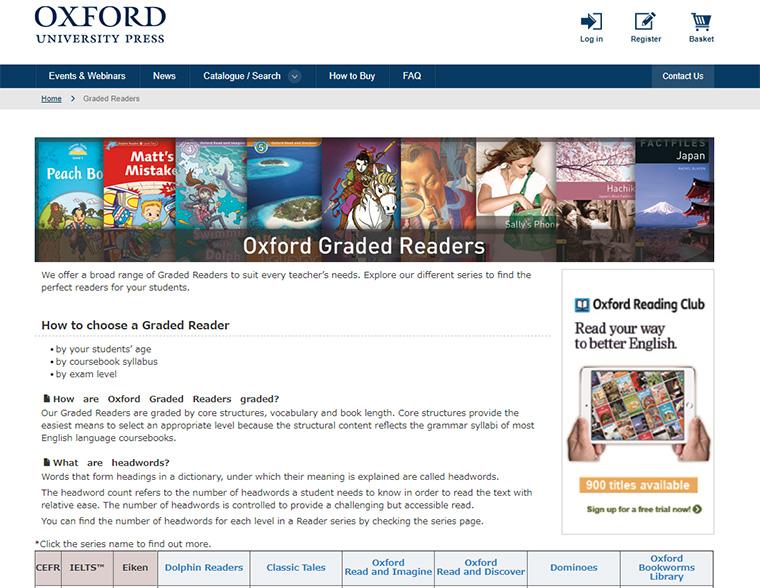 >お勧めのOxford Graded ReadersとPenguin Readers(外国人英語学習者向けの本)