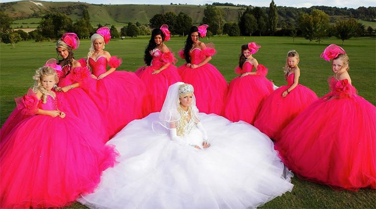 トラベラーのドキュメンタリー番組:My Big Fat Gypsy Wedding