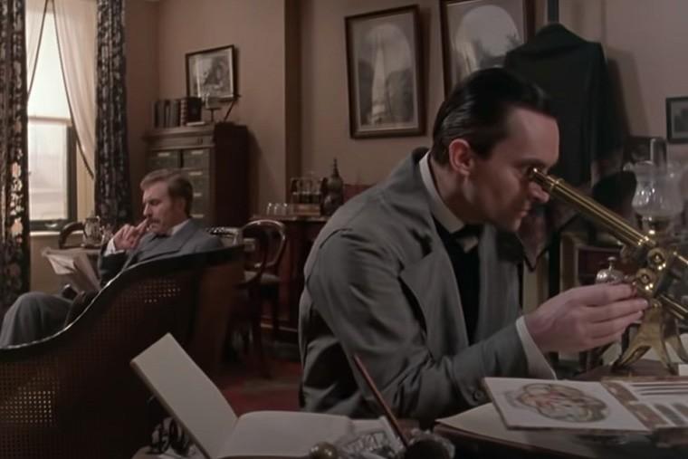 ジェレミー・ブレットのシャーロック・ホームズに出てくるイギリス英語